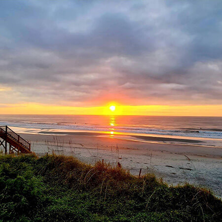 A sunrise overlooking the Pawleys Island beach makes for a picture-perfect morning. (Photo courtesy of @katiedoyle08)